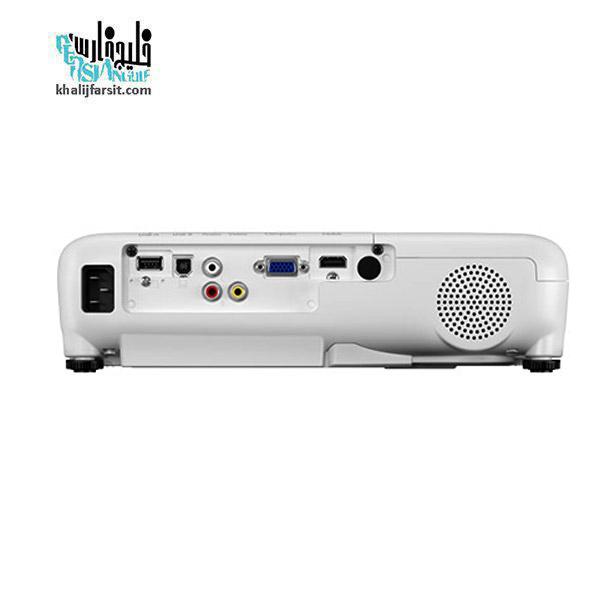 پشت ویدئو پروژکتور اپسون مدل Epson EB-X51