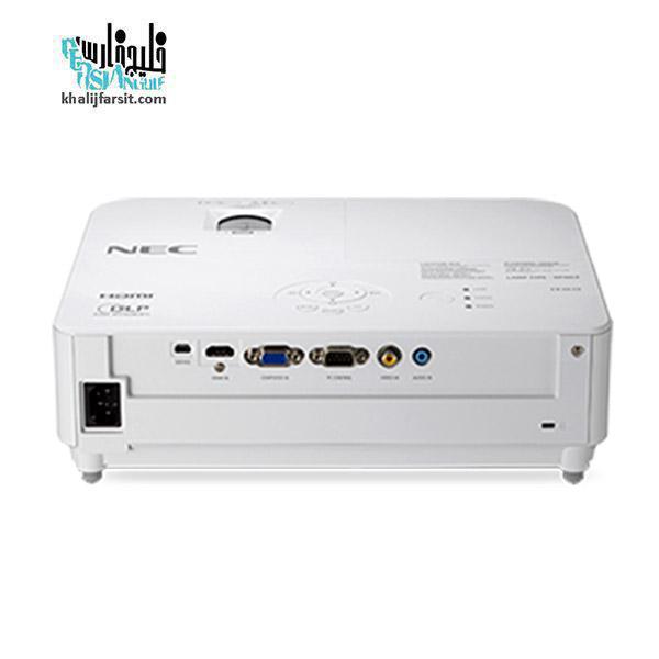 پشت ویدئو پروژکتور ان ای سی NEC NP-VE303X
