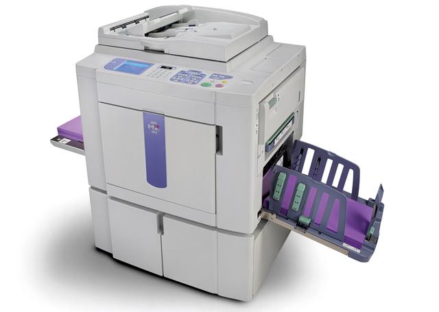 مزایای چاپ با دستگاه ریسوگراف