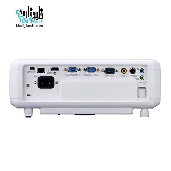 پشت ویدئو پروژکتور کانن مدل LV-X320
